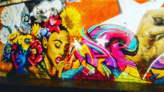 graffitti and pablo escobar tour picture of transporter medellin