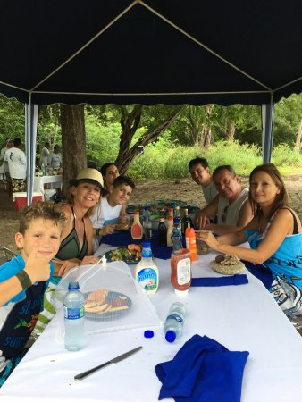 Golfo de Papagayo, Costa Rica: The awesome birthday lunch.