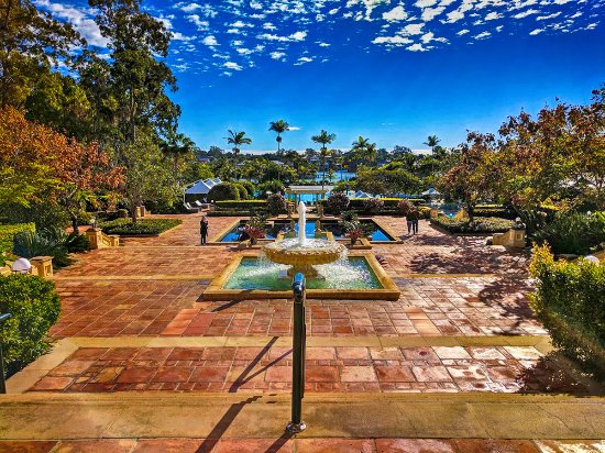 Hope Island, Australia: The InterContinental hotel grounds are nothing short of spectacular.