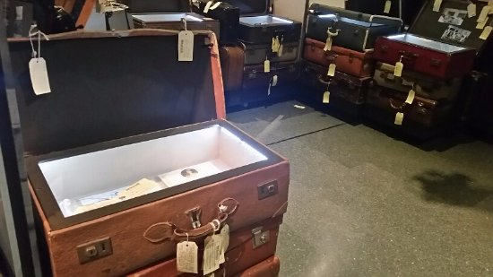 Albury, Australia: Suitcases open them up and see what secret story they hold