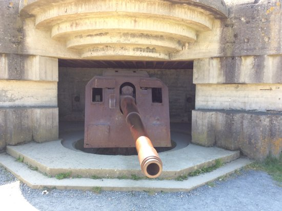 Longues-sur-Mer, Francja: German Bunker