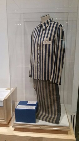 Albury, Australia: Buchenwald Concentration Camp Uniform on loan from Roseblum Jewish Museum