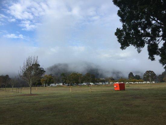 Wisemans Ferry, Australia: Misty morning
