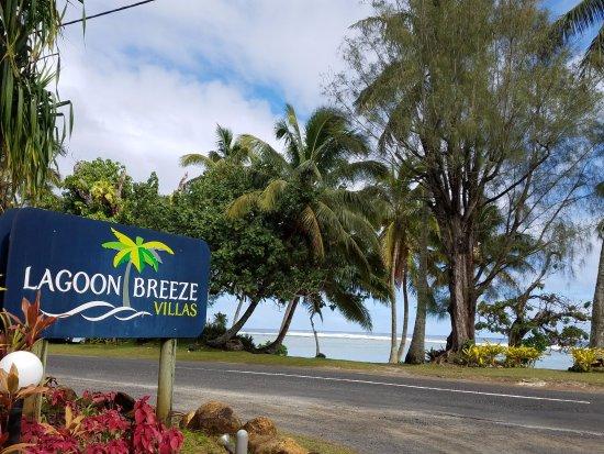 Arorangi, Cook Eilanden: Entrance to LBV
