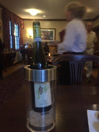 Jessica's at Swift House Inn Restaurant: Great bottle of wine