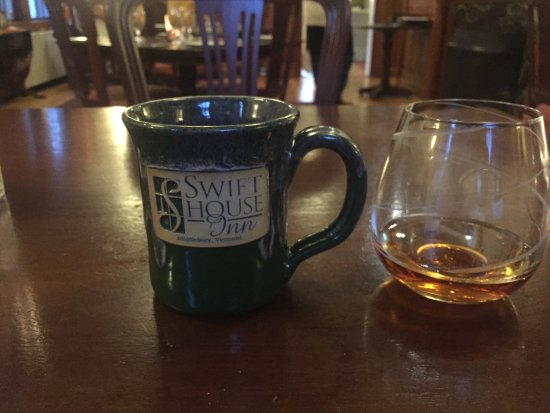 Jessica's at Swift House Inn Restaurant: after dinner libation