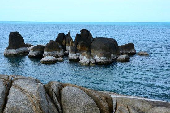Hin Ta & Hin Yai Rocks : Group Of Rocks Hinta-Hinyai