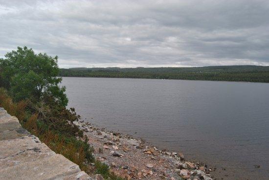 Loch Ness: veduta da una delle piazzole di sosta
