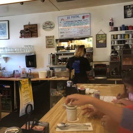 The Old Post Office Cafe: Charming breakfast bustle