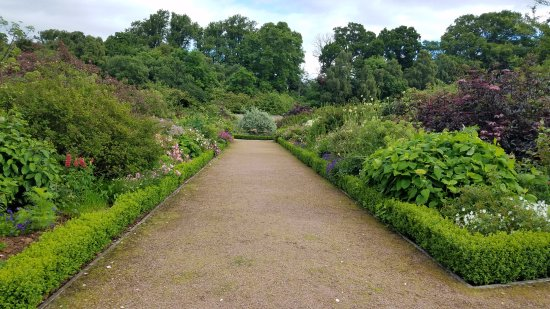 Culloden House: Inside the walled garden