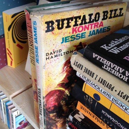 Decin, Tschechien: Buffalo Bill live here.