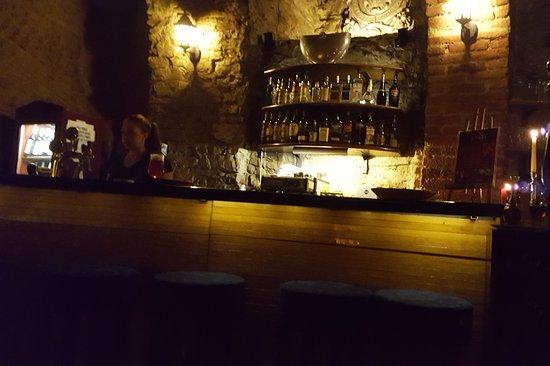 Great cellar restaurant and bar