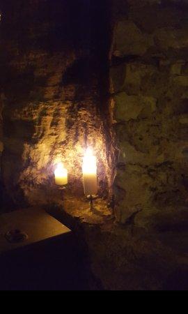 Superb cellar bar and restaurant.
