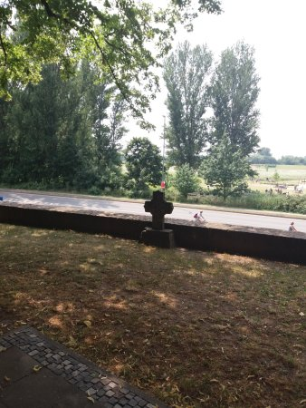Monheim am Rhein, Germany: Blick Richtung Rheinauen