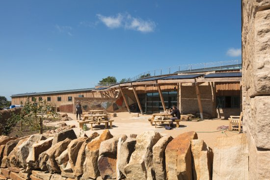 Hexham, UK: The Sill: National Landscape Discovery Centre