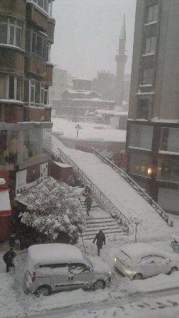 Amethyst Hotel Istanbul: Были снежные деньки в январе