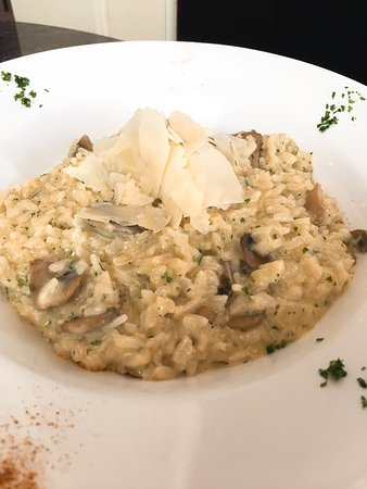 tuscany TOO: Risotto with Mushrooms