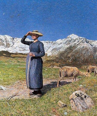 Segantini Museum : Gemälde von Segantini