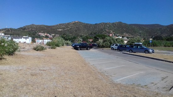 Sinnai, إيطاليا: Parcheggio