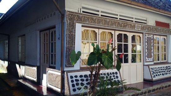 old style house in the village at Bendesa Mas Inn, Munduk, Bali