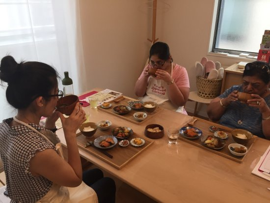 Arakawa, Japan: Japanese home meals course with chef YUCa!