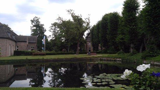 Tegelen, Нидерланды: Uitzicht vanaf terras