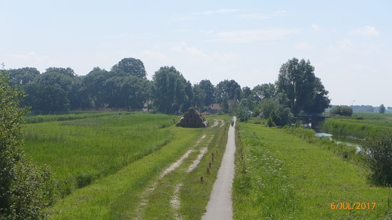 Overijssel Province, The Netherlands: View from a bird hide