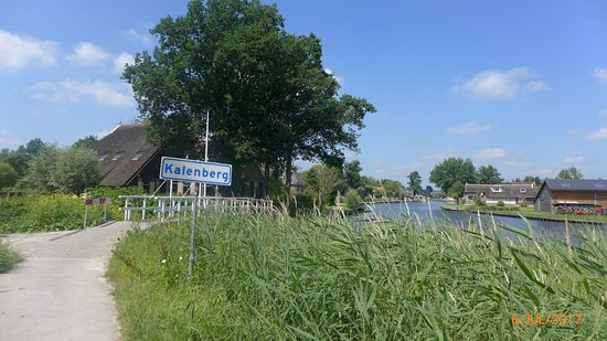 Overijssel Province, The Netherlands: Pretty Kalenberg - a perfect refreshment stop (try 't Lokaal by the water - not yet on TA)