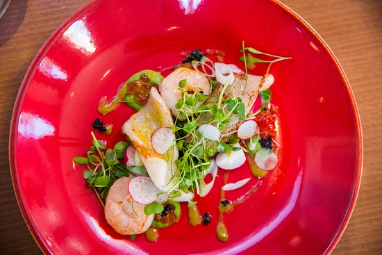 Oakley, UK: Glasshouse Restaurant Dish