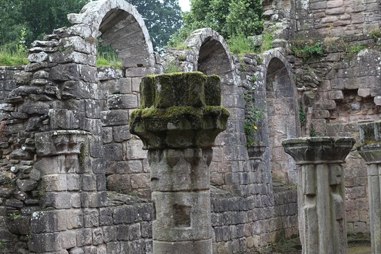 Ripon, UK: Fountains Abbey and Studley Royal NT 040717