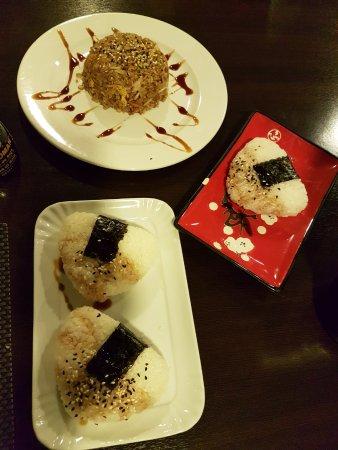 onigiri e riso saltato