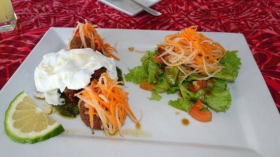 Tuna Salad, Rest. Amoa Resort; Faga, Samoa