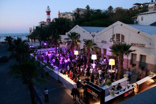 Nalagaat Center: The NaLaga'at Center in Jaffa port