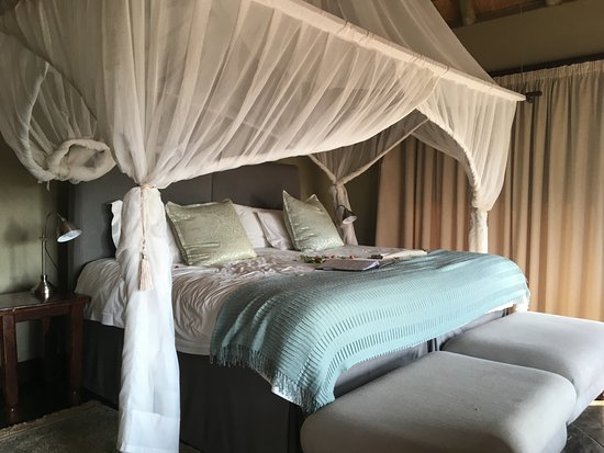 Timbavati Private Nature Reserve, Νότια Αφρική: Awesome comfortable king sized bed.