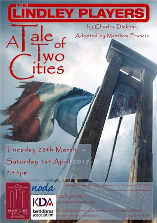 Whitstable, UK: A Tale of Two Cities poster - March 2017