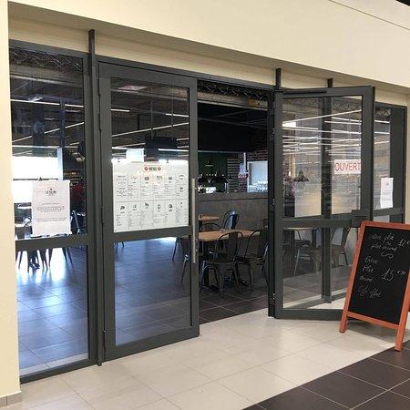 Luneville, Prancis: Restaurant Entrée Galerie