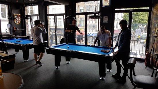 The monk billiards