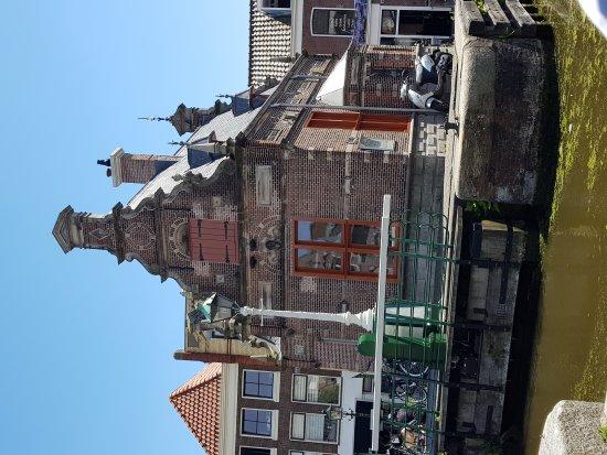 Leidschendam, Holland: uitzicht terras fratelli