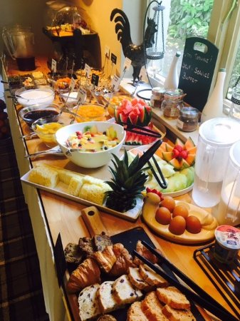 Callander, UK: The amazing buffet breakfast spread at Abbotsford Lodge Guest House