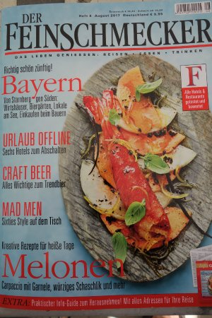 Ruesselsheim, Germany: Wellenlänge im Feinschmecker, Ausgabe 8, August 2017