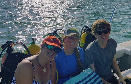 Tavernier, FL: On the way to dive!