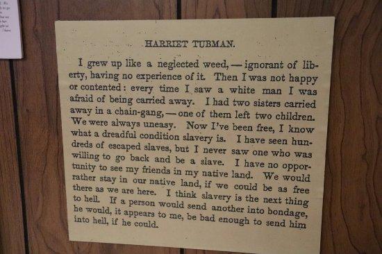 St. Catharines, Kanada: About Harriet Tubman