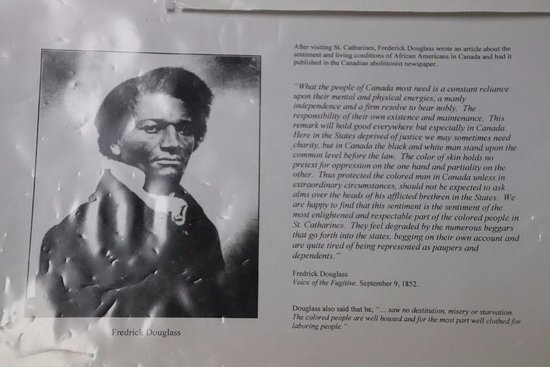 Douglass came to St. Catharines