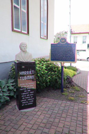 St. Catharines, Canada : Statue of Harriet Tubman