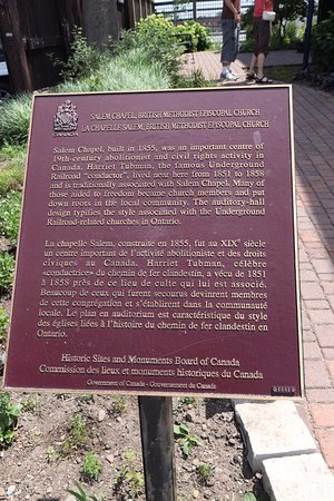 St. Catharines, Canada : Another plaque