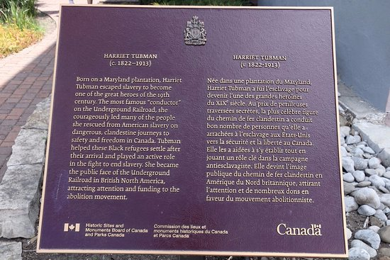St. Catharines, Canada: And another plaque
