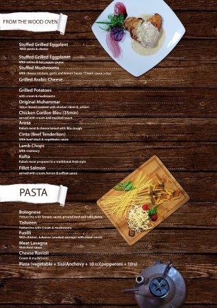 Tishreen : menu 2017