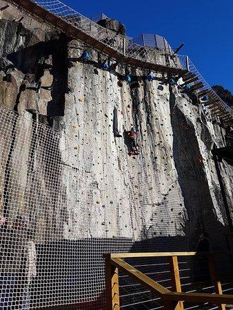 Launceston, Australia: Rock climbing wall