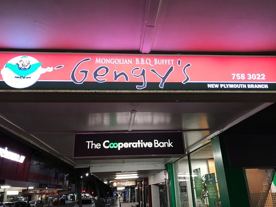 Gengy S Mongolian Bbq Restaurant New Plymouth