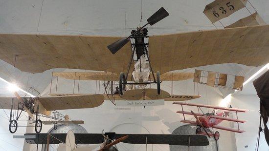 Deutsches Museum: Aviones en tamaño real